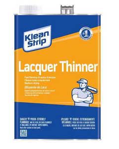 WM Barr QML170 Klean Strip Lacquer Thinner Quart