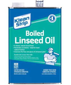 WM Barr GLO45 Klean Strip Boiled Linseed Oil Gallon