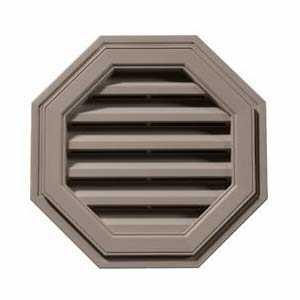 Builders Edge 120012222097 Vent Octagon 22 in Clay Cap