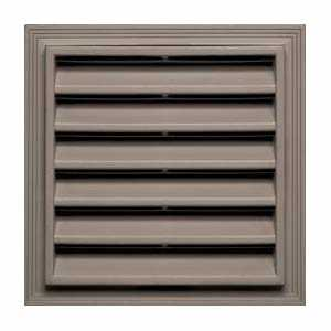 Builders Edge 120051212013 Vent Square 12x12 Clay Cap