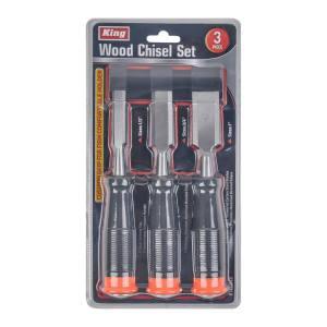 King Tools & Equipment 0151-0 3-Piece Chisel Set