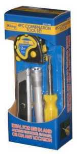 King Tools & Equipment 0177-0 Home Fix It Kit 4pc