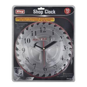 King Tools & Equipment 0204-0 Shop Clock