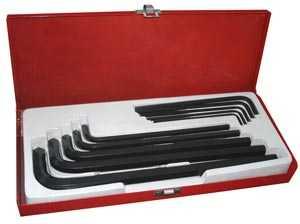King Tools & Equipment 0384-0 Hex Key Set Jumbo 10pc