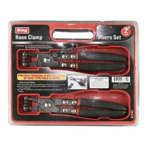 King Tools & Equipment 0673-0 Hose Clamp Plier 2-Pack