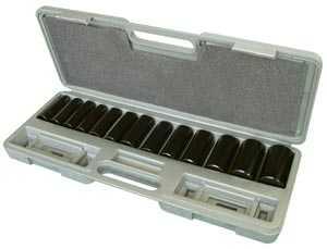 King Tools & Equipment 0684-1 Deep Socket Set 11-32mm 14pc M