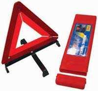 King Tools & Equipment 0778-0 Roadside Warning Triangle