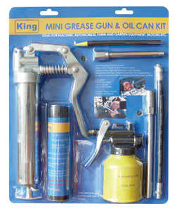 King Tools & Equipment 0853-0 Grease Gun & Oil Can