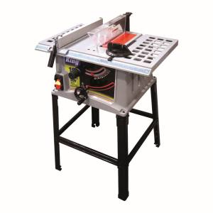 King Tools & Equipment 0929-0 Table Saw With Stand 10 in