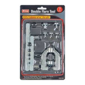 King Tools & Equipment 0945-0 Double Flare Tool 7pc