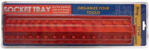 King Tools & Equipment 0953-0 Organizer Socket 1/2 in Plastic