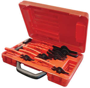 King Tools & Equipment 1036-0 Plier Set Snap Ring 11pc