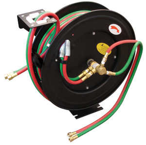 King Tools & Equipment 1402-0 Hose Welding 50 ft With Retractable Roll
