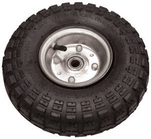 King Tools & Equipment 1587W-0 10 in Wheel Pneumatic Tire