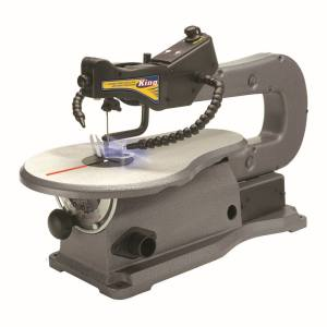 King Tools & Equipment 1741-0 16 in Variable Speed Scroll Saw