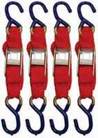 King Tools & Equipment 1904-0 Utility Tie Down 4pc Set