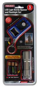 King Tools & Equipment 2515-0 Flashlight Set/Led Opener 5 Piece Set