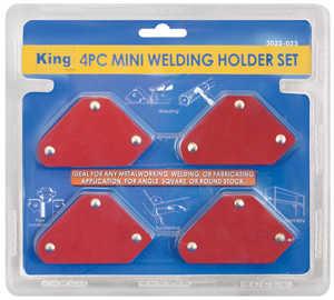 King Tools & Equipment 3022-0 Magnetic Set 4pc