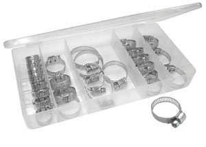 King Tools & Equipment 3180-0 Clamp Set Hose 26pc