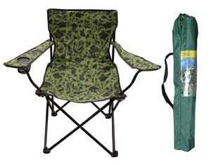 King Tools & Equipment 3215-0 Chair Camping Camouflage With Bag