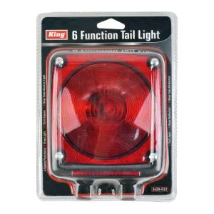King Tools & Equipment 3420-0 6 Function Tail Light