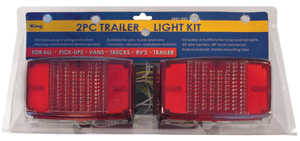 King Tools & Equipment 3431-0 Trailer Light Kit 2 Piece