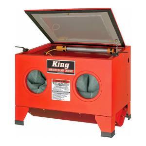 King Tools & Equipment 4004-0 Cabinet Sandblast/Bead Blast