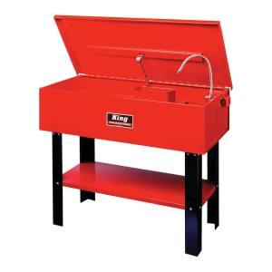 King Tools & Equipment 4414-0 40 Gal Parts Washer Bin