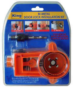 King Tools & Equipment 0710-0 Bi-Metal Door Lock Insulation Kit