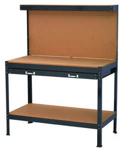 King Tools & Equipment 2117-0 Work Bench With Table Board