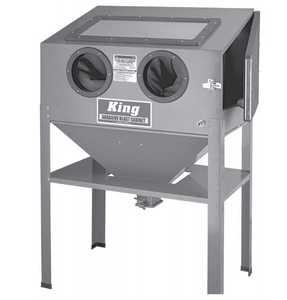 King Tools & Equipment 4006-0 Cabinet Sandblast Floor Model
