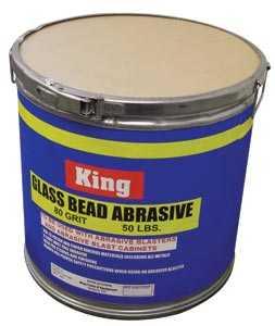 King Tools & Equipment 4012-0 Abrasive Bead Glass 80grit 50#