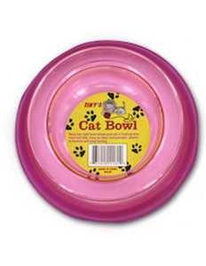 KOLE IMPORTS DI450 Cat Bowl Assorted Colors