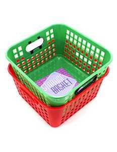 KOLE IMPORTS HT215 Plastic Basket