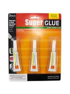 KOLE IMPORTS MP054 SUPER GLUE 3PK