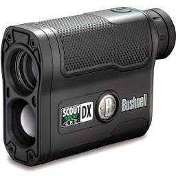 Bushnell Outdoor 202355 Bushnell Scout Dx 1000 Arc 6 x 21 Black Laser Rangefinder