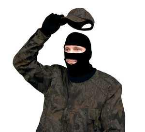 Primos Hunting 6748 Black Stretch Fit Full Mask
