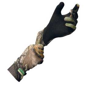 Primos Hunting PS6676 Realtree Apg Hd Stretch Fit Gloves With Sure Grip Palm