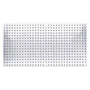 John Sterling 0204-1648 Heavy Duty Diamond Plate Pegboard, 16 in X 48 in