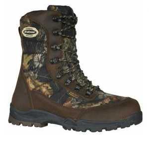 LaCrosse Footwear 541013-M Silencer Hyper-Dri 8 In Mossy Oak Break Up 9