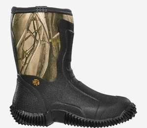 LaCrosse Footwear 150061-4M Mudlite 9 Youth Next Gen Boots 3.5mm 4
