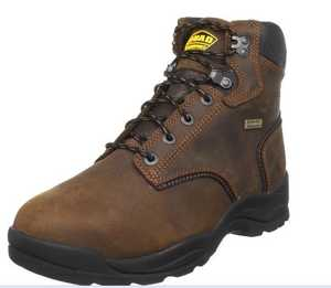 LaCrosse Footwear 460002-M Quad Comfort 4x6 6 Brown Steel Toe 7.5