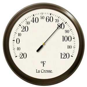La Crosse 104-108 8 in Dial Thermometer