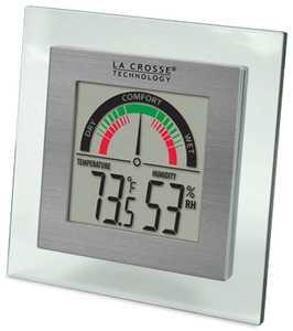 LA CROSSE TECHNOLOGY LTD WT-137U-CBP Indoor Comfort Level Weather Station