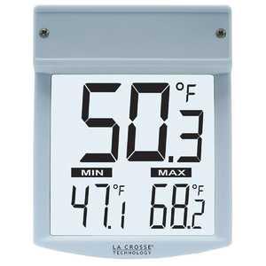 LA CROSSE TECHNOLOGY LTD WT-62U-TBP Outdoor Window Thermometer