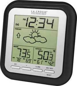LA CROSSE TECHNOLOGY LTD WS-9133BK-IT-CB Wireless Weather Station With Forecast