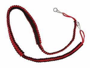 CR Archery Products 19001180101 Braided Binocular Strap Black/Red