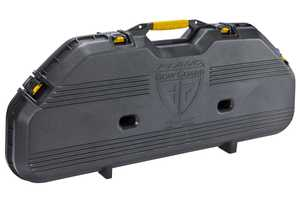 Plano Molding 108115 Aw Bow Case W/Dlx Latches Blk