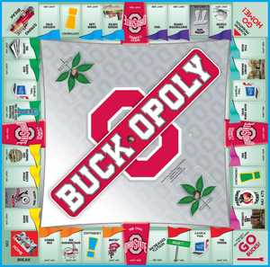 LATE FOR THE SKY BUCK Buck-Opoly Ohio State Game