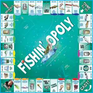 LATE FOR THE SKY FISH Fishin'-Opoly